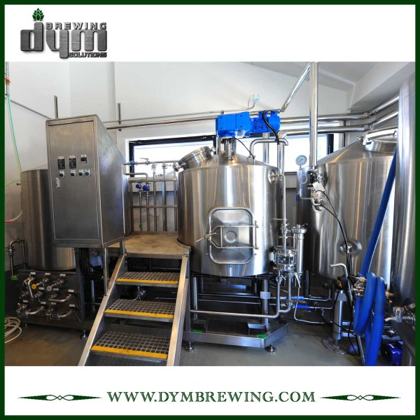 SUS304 Stainless Steel Turnkey 300L Nano Beer Brewing Equipment for Brewery