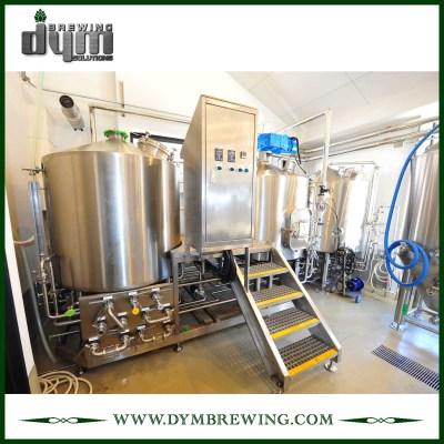 SUS304 Equipo de elaboración de cerveza nano llave en mano 500L de acero inoxidable para cervecería