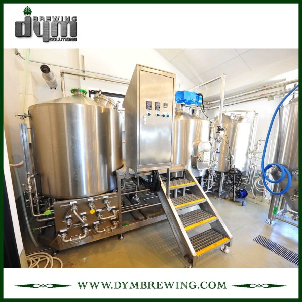 SUS304 Stainless Steel Turnkey 500L Nano Beer Brewing Equipment for Brewery