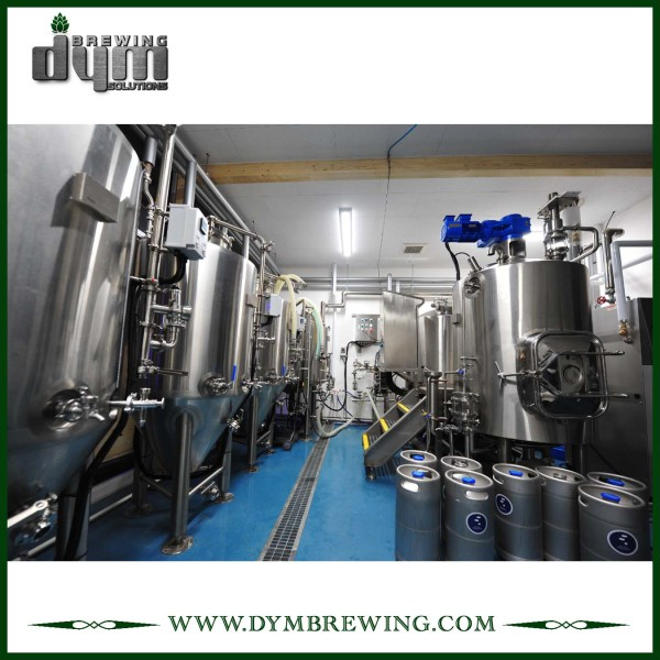SUS304 Stainless Steel Turnkey 700L Nano Beer Brewing Equipment for Brewery