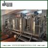 Equipo de fabricación de cerveza nano llave en mano 800L de acero inoxidable SUS304 para cervecería