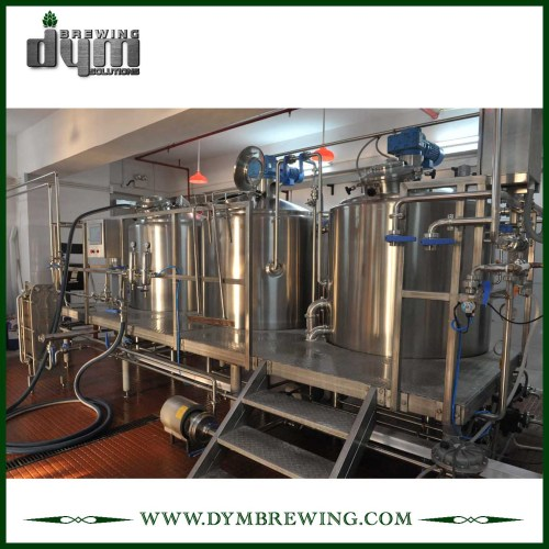 SUS304 800L Nano Equipo de elaboración de cerveza para diferentes recetas