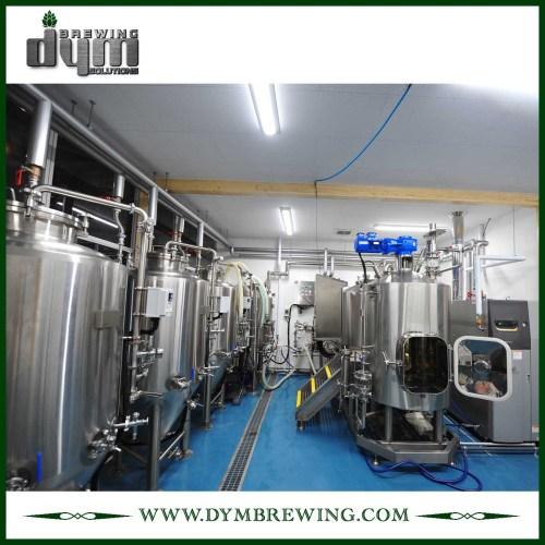 SUS304 Equipo de elaboración de cerveza nano llave en mano 7bbl de acero inoxidable para cervecería