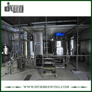 Équipement de brassage de bière nano clé en main de l'acier inoxydable SUS304 8bbl pour la brasserie