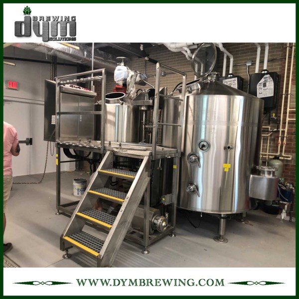 SUS304 Stainless Steel Turnkey 10bbl Nano Beer Brewing Equipment for Brewery
