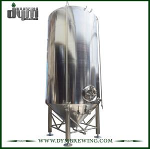 Fermentador Unitank 200HL personalizado profesional para fermentación de cervecería con chaqueta de glicol