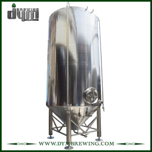 Low Price of Large Scale 120BBL Fermenter with Glycol Jacket for Beer Brewery
