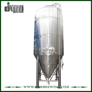 Fermenteur 100bbl Unitank adapté aux besoins du client par professionnel pour la fermentation de brasserie de bière avec la veste de glycol