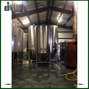 Fermentador Unitank 600L personalizado profesional para fermentación de cervecería con chaqueta de glicol