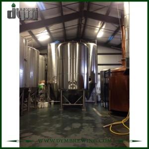 Fermenteur Unitank adapté aux besoins du client par professionnel 200L pour la fermentation de brasserie de bière avec la veste de glycol