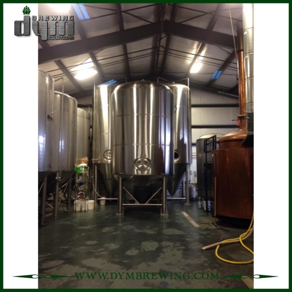 Fermentador Unitank 200L personalizado profesional para fermentación de cervecería con chaqueta de glicol