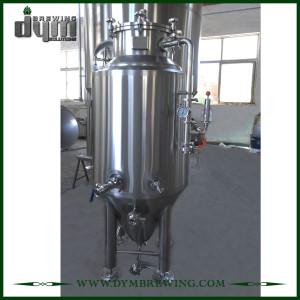 Fermenteur 120L Unitank adapté aux besoins du client par professionnel pour la fermentation de brasserie de bière avec la veste de glycol