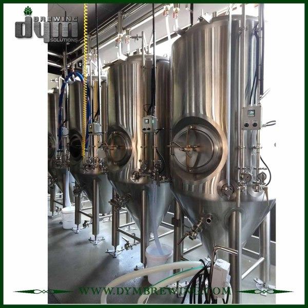 Профессиональный индивидуальный ферментер Unitank на 1000 л для ферментации пивоварен с гликолевой рубашкой