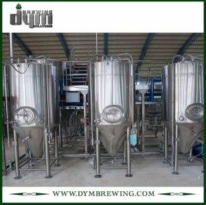 Fermentador Unitank 200bbl personalizado profesional para fermentación de cervecería con chaqueta de glicol
