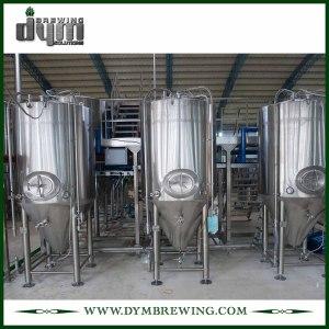 Fermenteur 40bbl Unitank adapté aux besoins du client par professionnel pour la fermentation de brasserie de bière avec la veste de glycol
