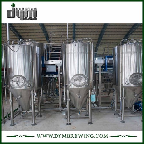 High Quality Stainless Steel Beer Fermentation Tanks for Brewery | 100BBL Conical Fermenters for Sale
