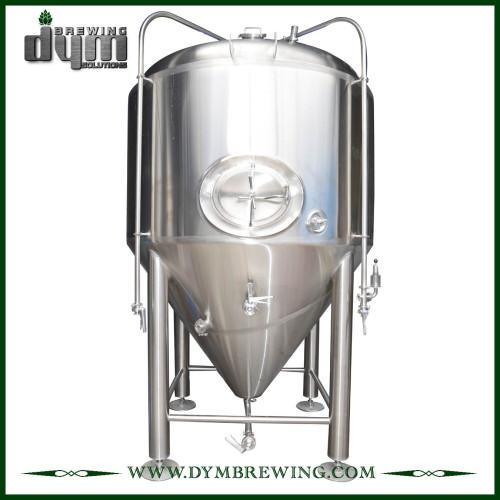 Fermentador Unitank 50HL personalizado profesional para fermentación de cervecería con chaqueta de glicol