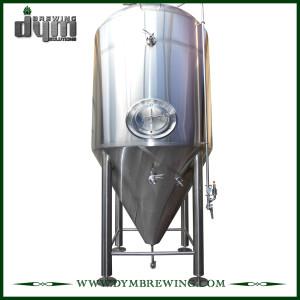 Fermenteur 30bbl Unitank adapté aux besoins du client par professionnel pour la fermentation de brasserie de bière avec la veste de glycol