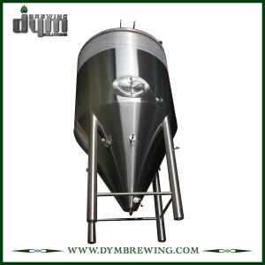Fermenteur 60bbl Unitank adapté aux besoins du client par professionnel pour la fermentation de brasserie de bière avec la veste de glycol