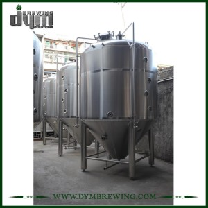 Fermentador Unitank personalizado profesional de 80bbl para fermentación de cervecería con chaqueta de glicol