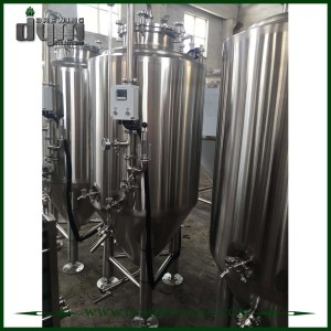 Fermentador Unitank de 2bbl personalizado profesional para fermentación de cervecería con chaqueta de glicol