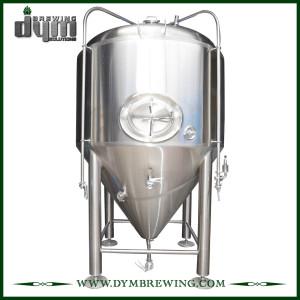 Fermenteur 25bbl Unitank adapté aux besoins du client professionnel pour la fermentation de brasserie de bière avec la veste de glycol