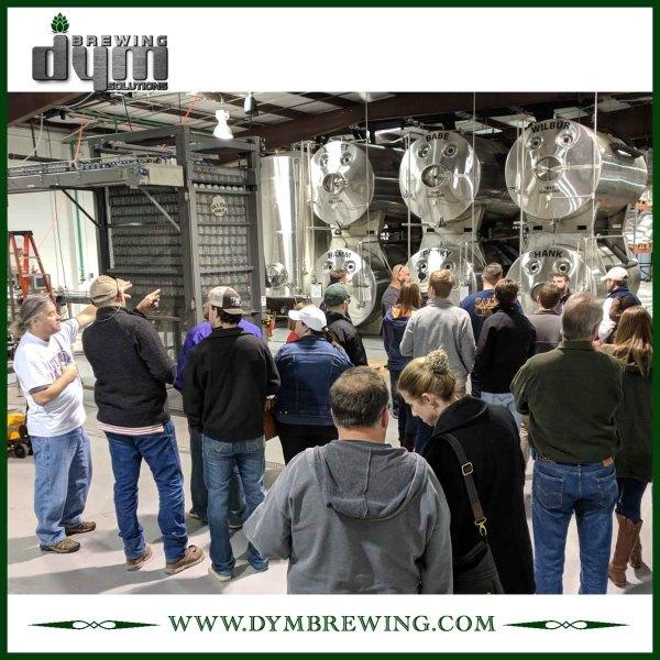 Fermenteur horizontal 60bbl personnalisé industriel (EV 60BBL, TV 78BBL) pour la fabrication de bière artisanale