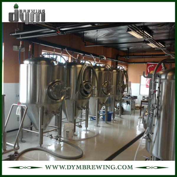 Advanced Production Technology 10bbl Kombucha Fermenter (EV 10BBL, TV 13BBL) with Glycol Jacket for Hotel Bar
