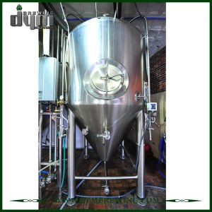 Advanced Production Technology 20bbl Kombucha Fermenter (EV 20BBL, TV 26BBL) with Glycol Jacket for Hotel Bar