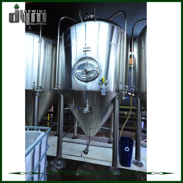 Advanced Production Technology 30bbl Kombucha Fermenter (EV 30BBL, TV 39BBL) with Glycol Jacket for Hotel Bar