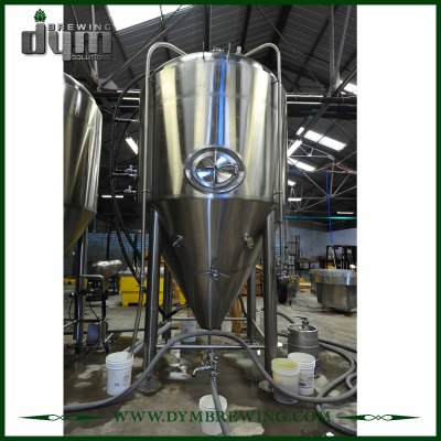 Tecnología de producción avanzada Fermentador de kombucha 60bbl (EV 60BBL, TV 78BBL) con chaqueta de glicol para bar de hotel