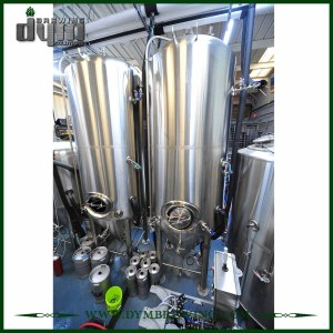 Advanced Production Technology 80bbl Kombucha Fermenter (EV 80BBL, TV 104BBL) with Glycol Jacket for Hotel Bar