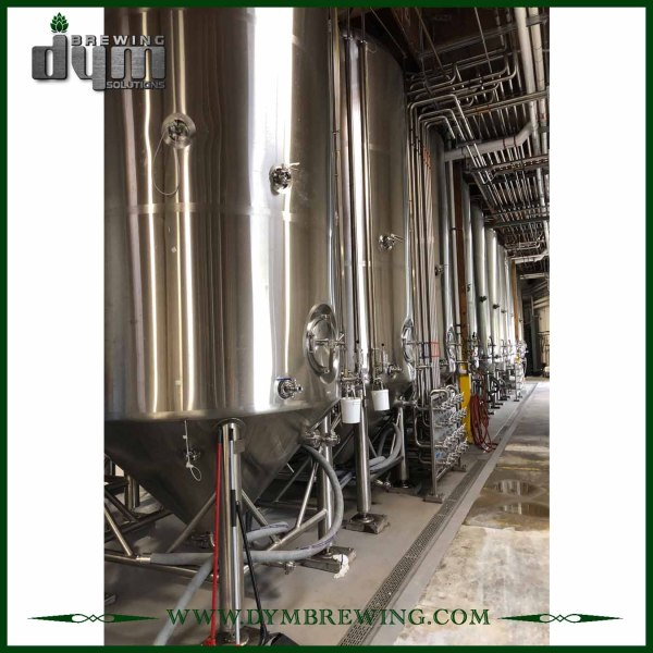Advanced Production Technology 120bbl Kombucha Fermenter (EV 120BBL, TV 156BBL) with Glycol Jacket for Hotel Bar