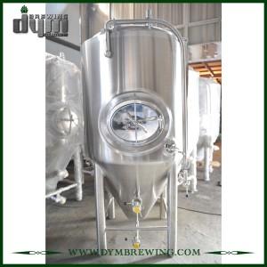 Cuves de fermentation de vin en acier inoxydable à haute efficacité 10bbl (EV 10BBL, TV 13BBL) à vendre