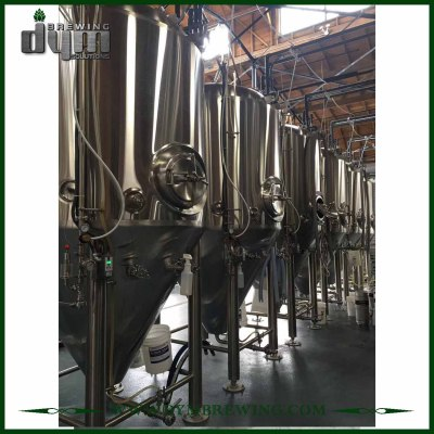 Tanques de fermentación de vino de 30bbl de acero inoxidable de alta eficiencia (EV 30BBL, TV 39BBL) a la venta