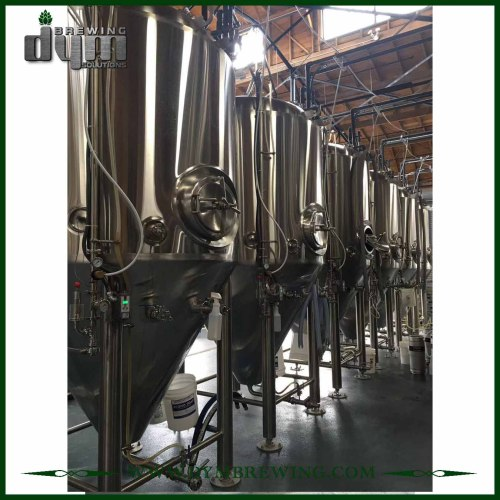 Tanques de fermentación de vino de 10bbl de acero inoxidable de alta eficiencia (EV 10BBL, TV 13BBL) a la venta
