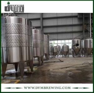 Tanques de fermentación de vino de acero inoxidable de alta eficiencia 80bbl (EV 80BBL, TV 104BBL) a la venta