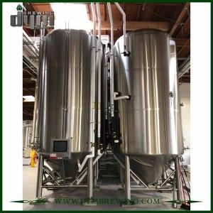 Tanques de fermentación de vino de 100bbl de acero inoxidable de alta eficiencia (EV 100BBL, TV 130BBL) a la venta