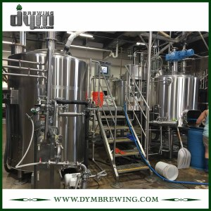 Easy to Operate Food Grade 20bbl Saison Beer Brewhouse for Hotel