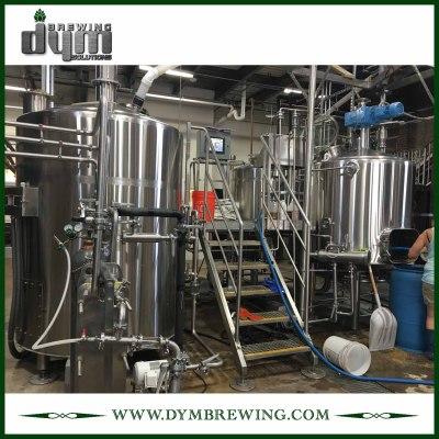 Brewhouse de cerveza Saison de calidad alimentaria 20bbl fácil de operar para hotel, bar, pub