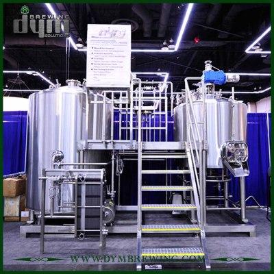 Equipo de micro elaboración de cerveza de grado alimenticio comercial 15HL a la venta