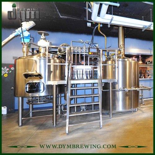Equipo de elaboración de cerveza artesanal micro comercial personalizado 5bbl