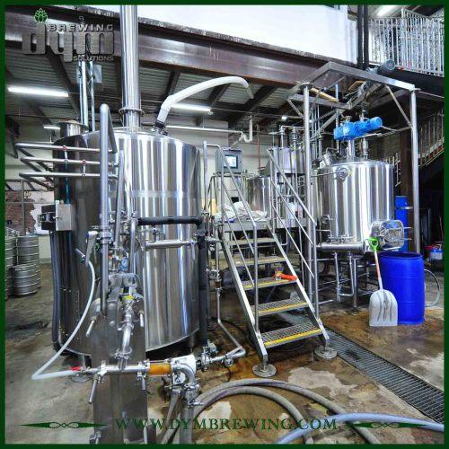 Brewhouse de la cerveza de Saison de la categoría alimenticia 20bbl fácil de operar para el hotel