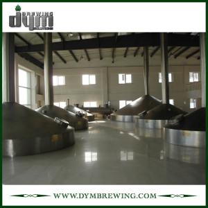 Equipo de cervecería de producción comercial de 200bbl para cervecería