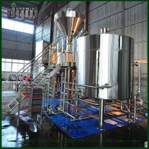 Equipo de elaboración de cerveza personalizado profesional 30BBL para cervecería