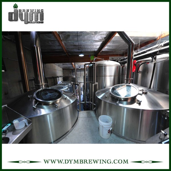 Commercial 60bbl Production Brewery Equipment for Brewhouse