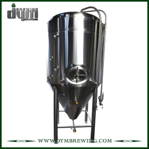 Chinese Fermenter of High Quality Stainless Steel 20HL Jacketed Fermenter for Sale