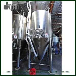 Fermenteur 40HL Unitank adapté aux besoins du client professionnel pour la fermentation de brasserie de bière avec la veste de glycol