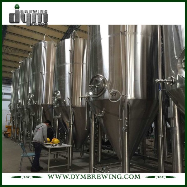 Professional Customized 50HL Unitank Fermenter for Beer Brewery Fermentation with Glycol Jacket