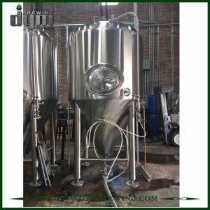 Fermentador Unitank 60HL personalizado profesional para fermentación de cervecería con chaqueta de glicol